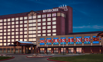 Front of the River Cree Resort and casino