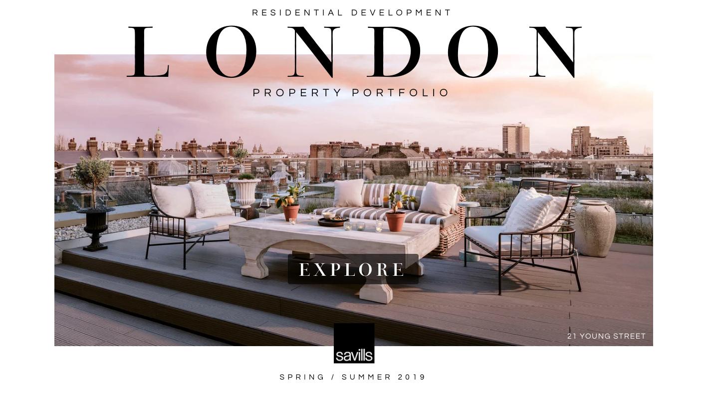 London Residential Development Portfolio Spring 2019 MOBILE London