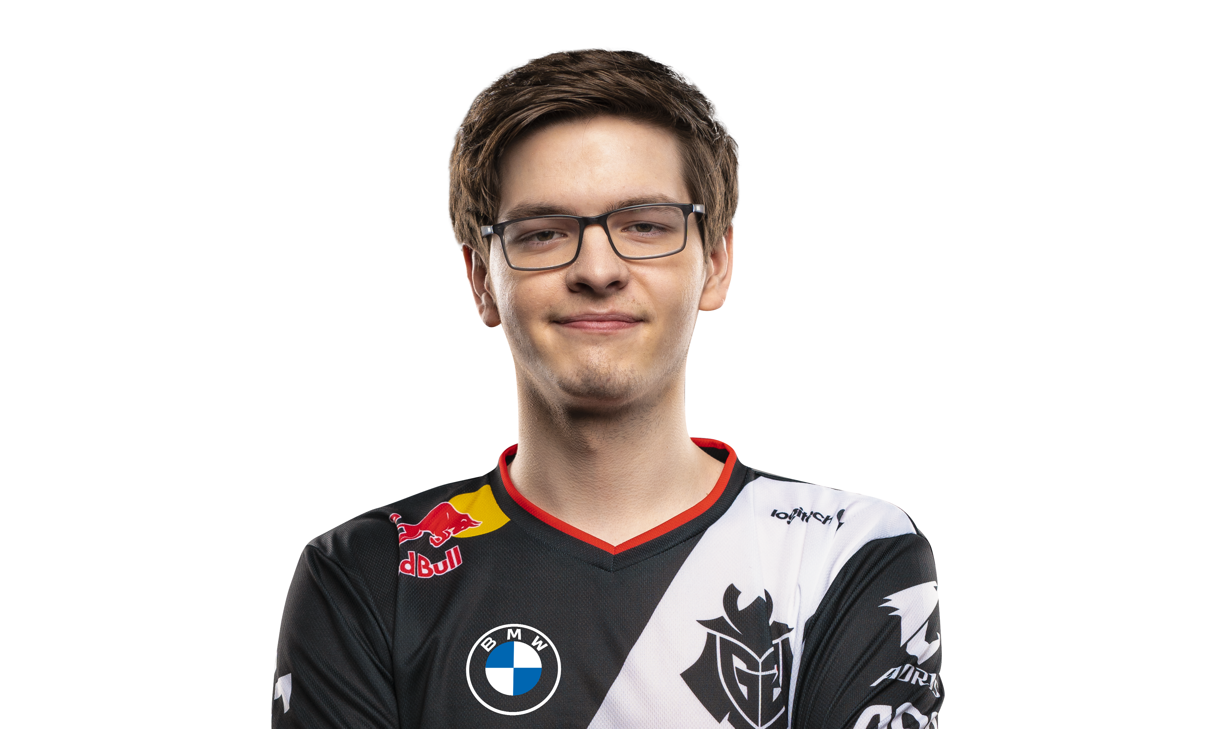 A headshot of G2 Esports League of Legends player Mikyx