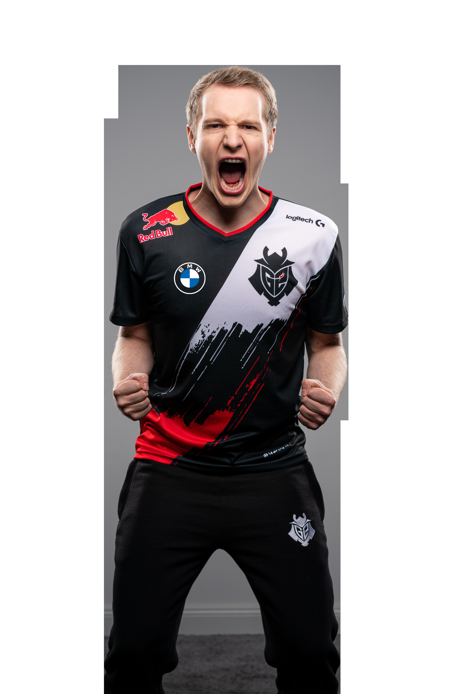 G2 Esports star Jankos yells in celebration