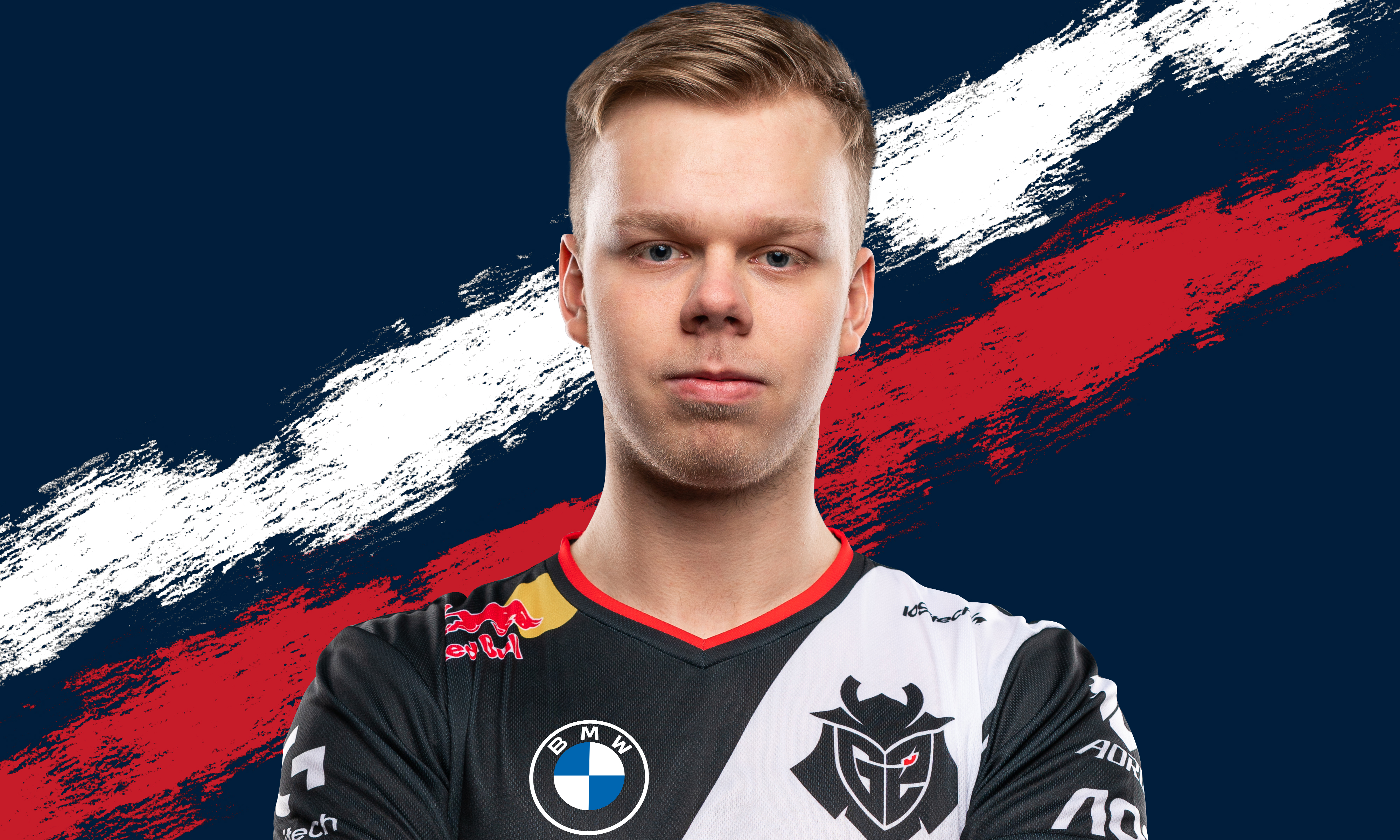 A headshot of G2 Esports League of Legends player Wunder