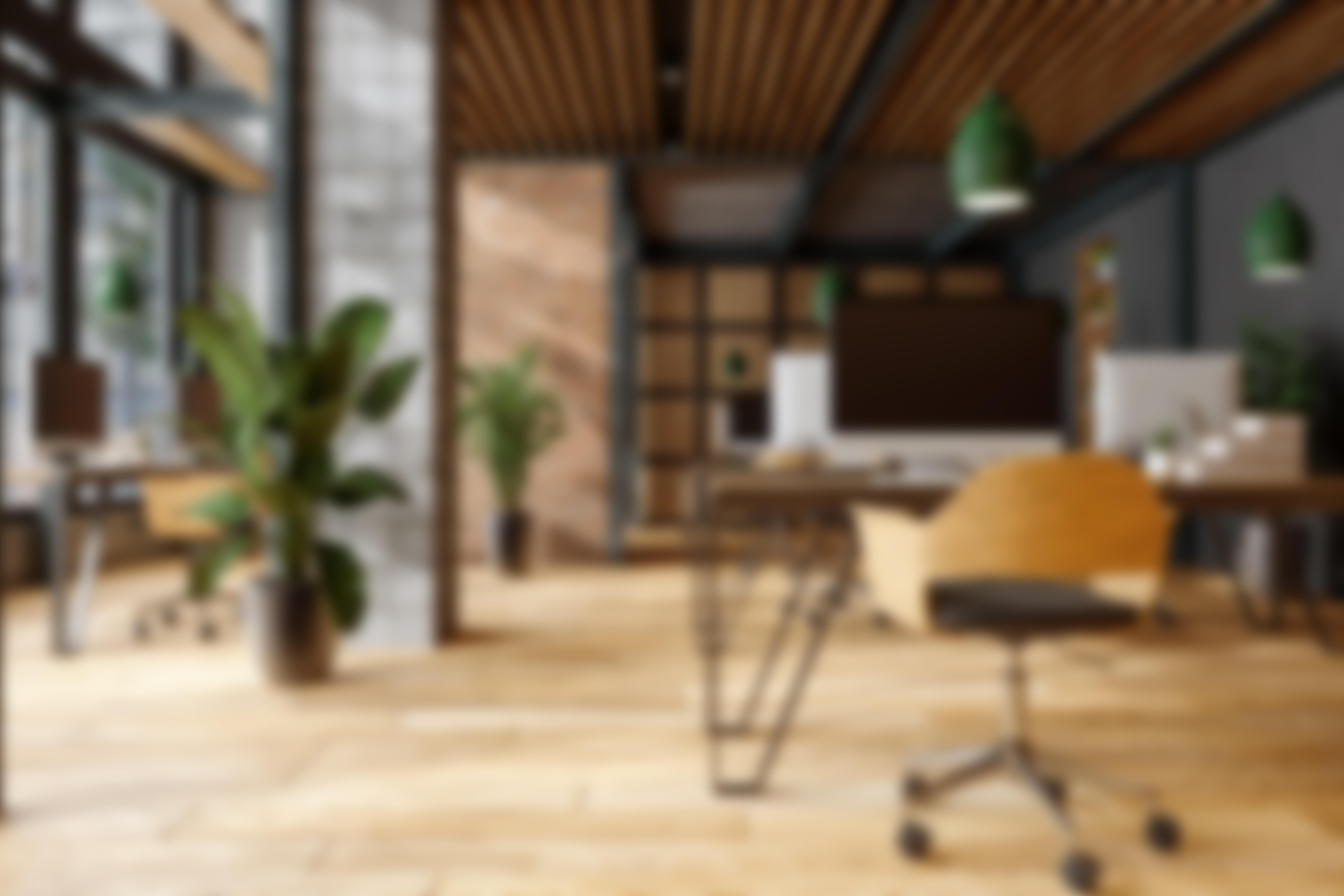 office blur image