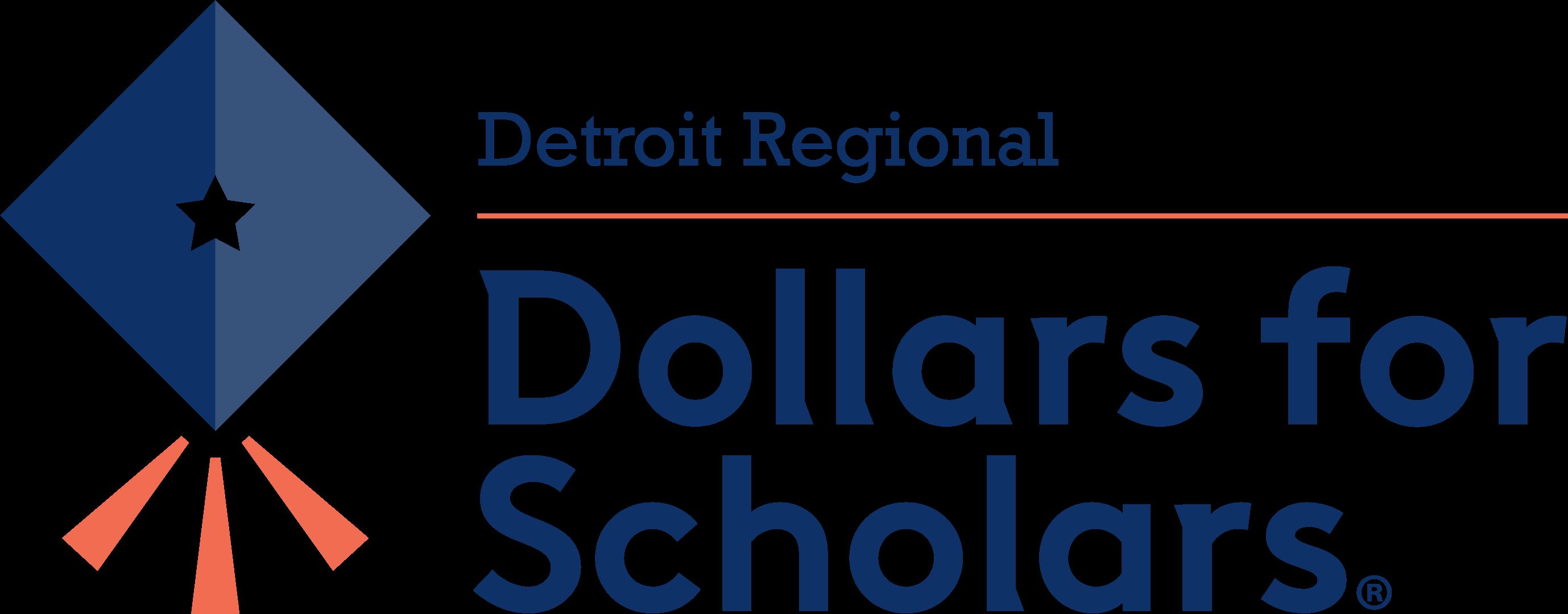 Detroit Regional Dollars for Scholars logo