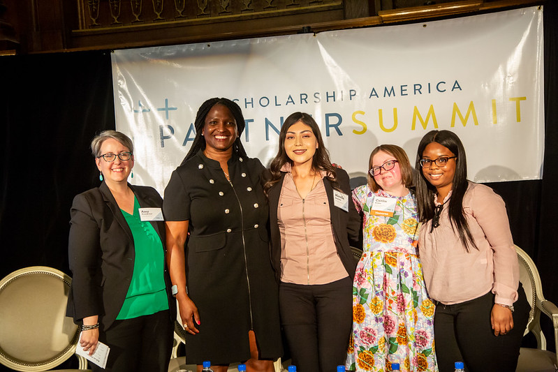 attendees pictured at the 2019 Scholarship America Partner Summit event