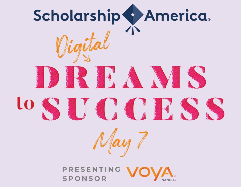 Scholarship America's 2020 Digital Dreams to Success logo