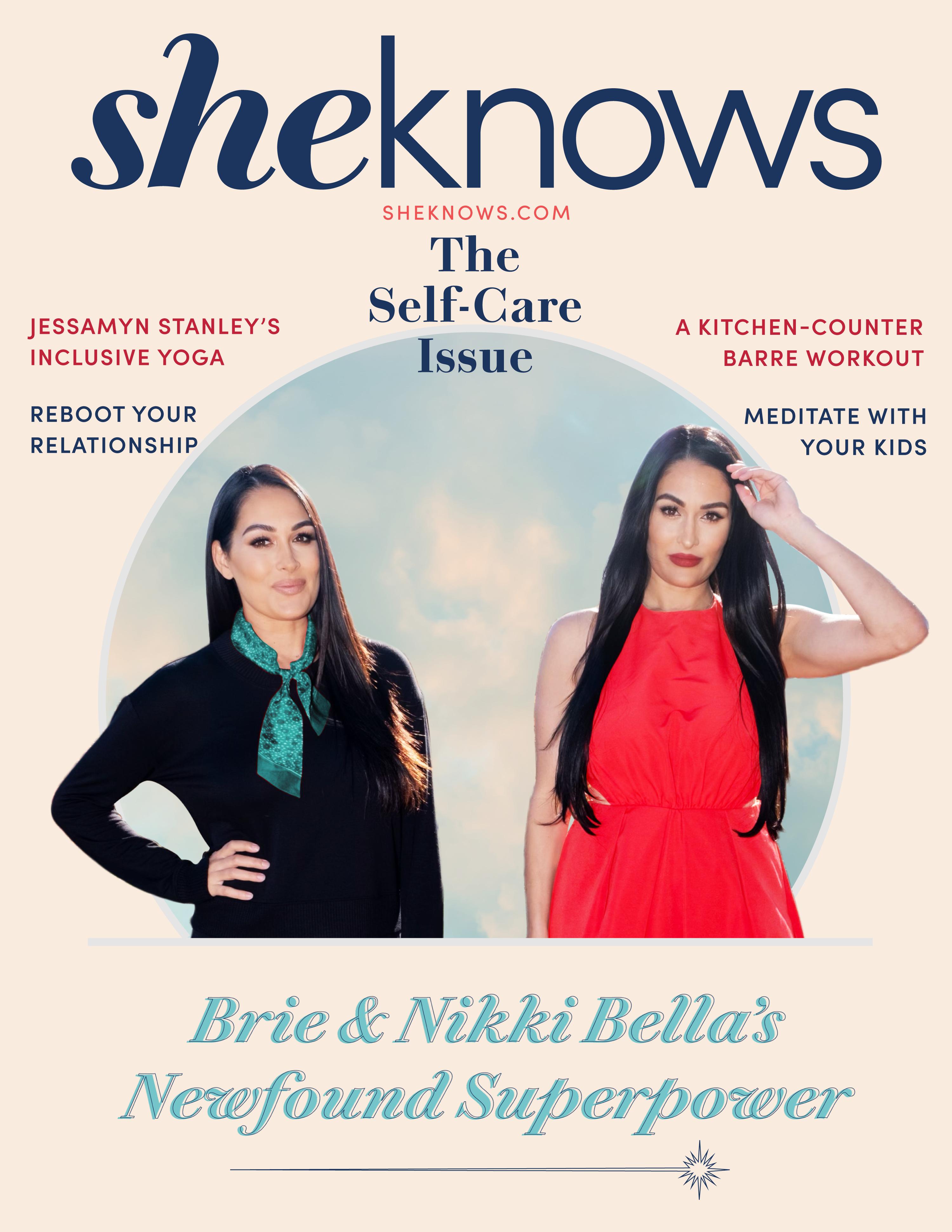 Brie and Nikki Bella SheKnows Cover