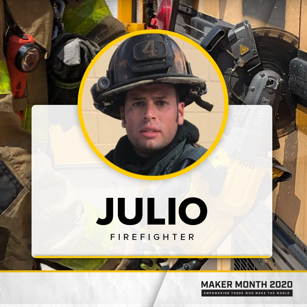 Maker Month - 31 Days of Makers | Featuring Julio