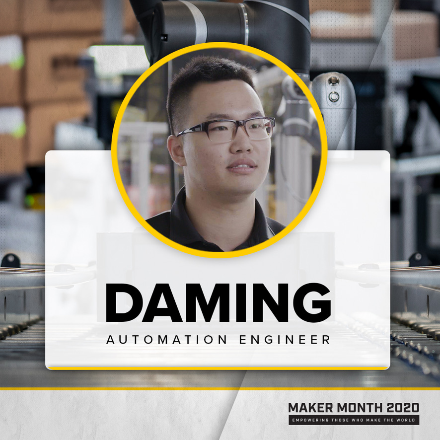 Maker Month - 31 Days of Makers | Featuring Daming