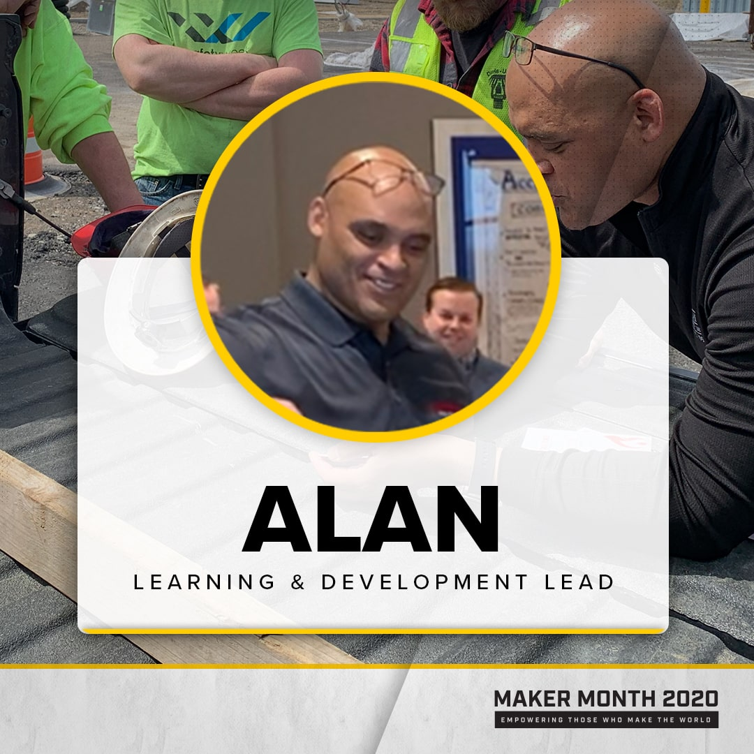 Maker Month - 31 Days of Makers | Featuring Alan
