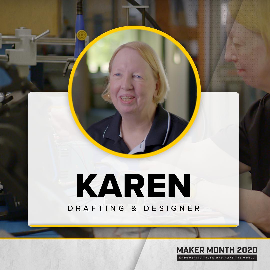 Maker Month - 31 Days of Makers | Featuring Karen