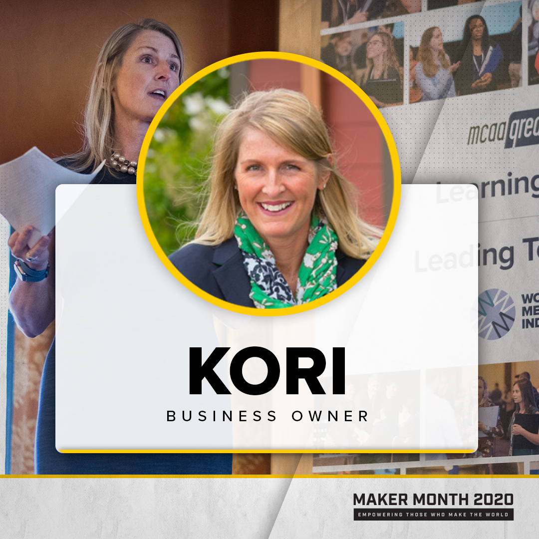 Maker Month - 31 Days of Makers | Featuring Kori