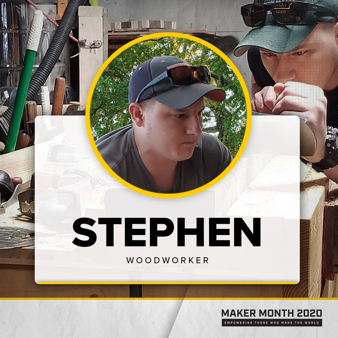 Maker Month - 31 Days of Makers | Featuring Stephen