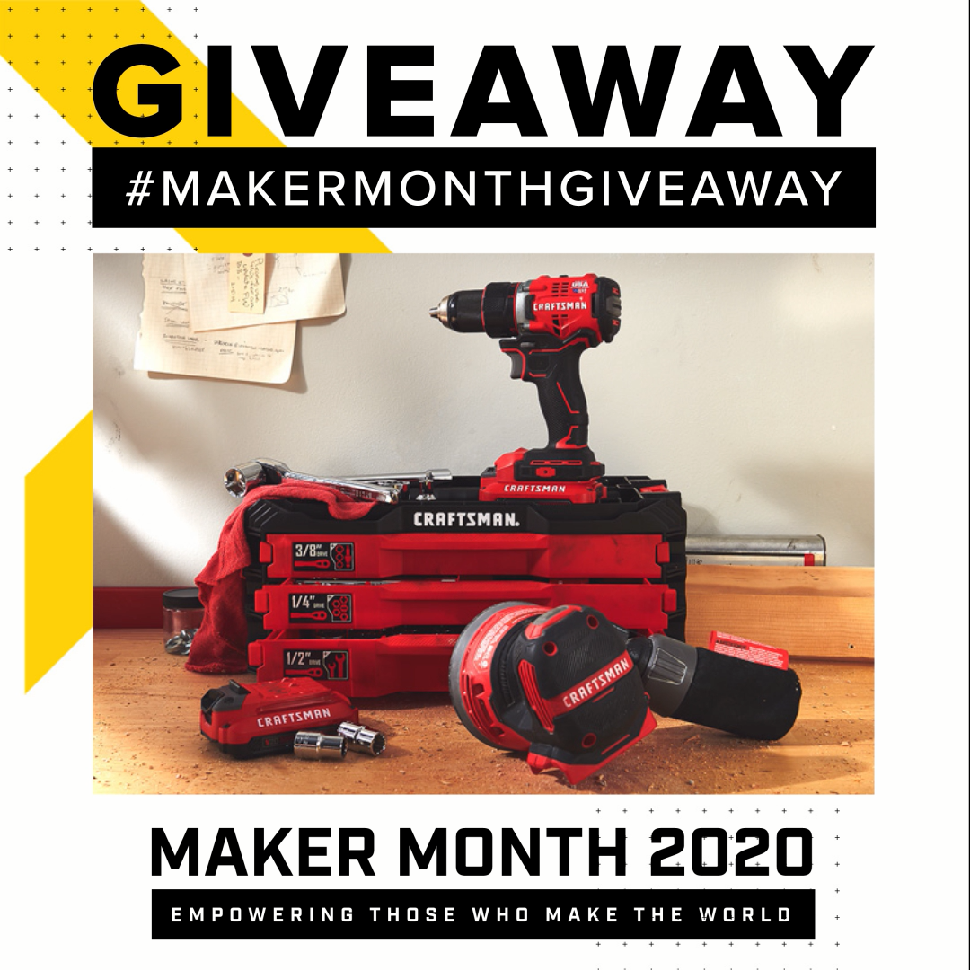 2020 Maker Month Giveaway Official Rules