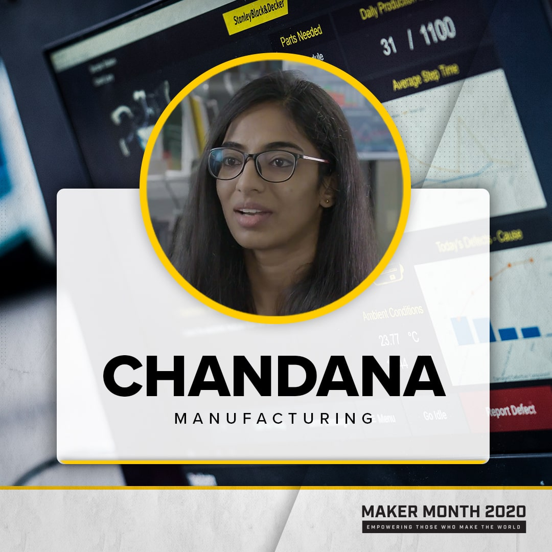 Maker Month - 31 Days of Makers | Featuring Chandana