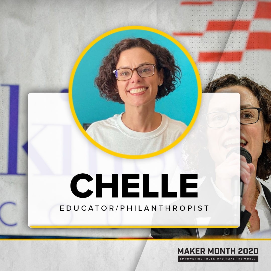 Maker Month - 31 Days of Makers | Featuring Chelle