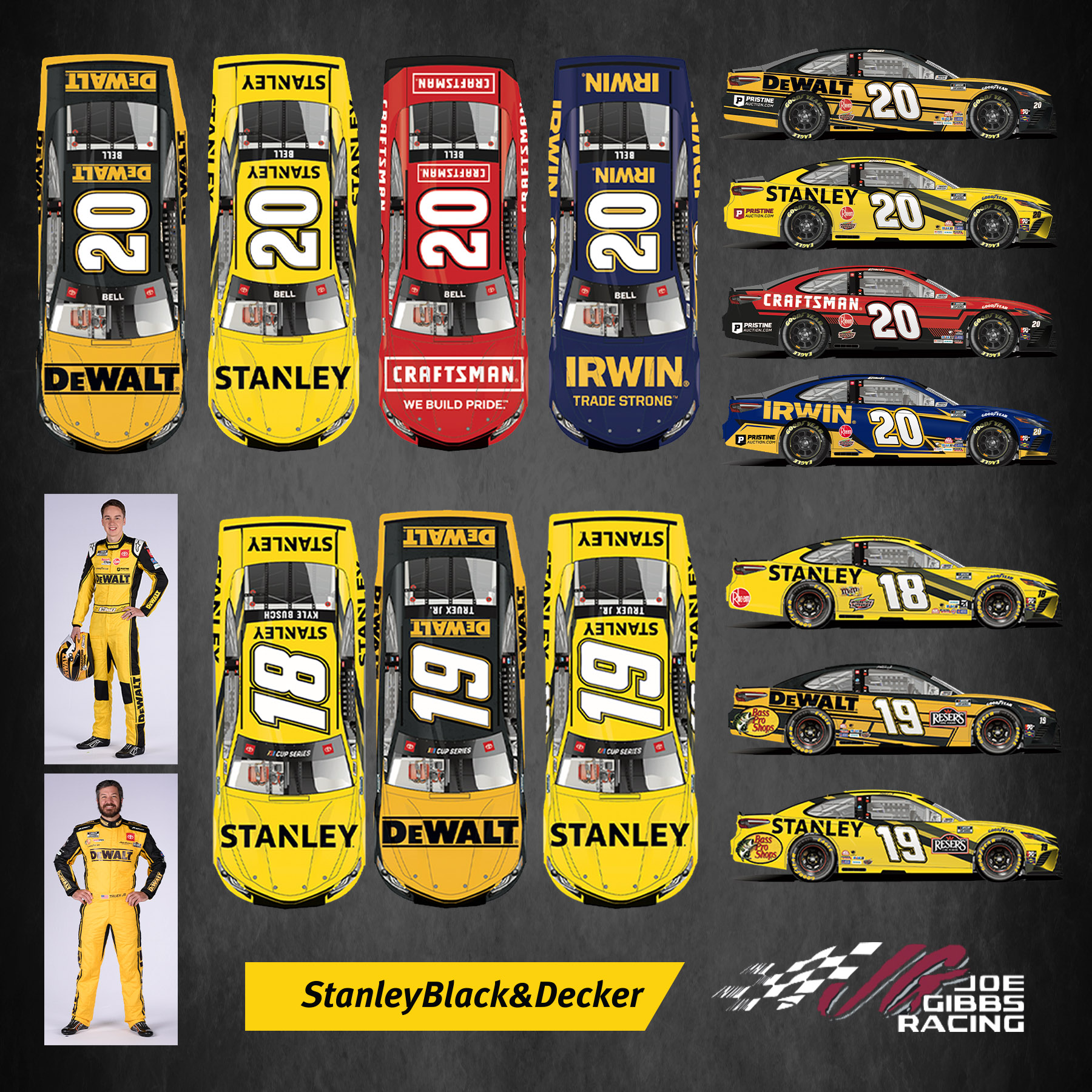 Stanley Black & Decker Tools Up for the 2021 NASCAR Season