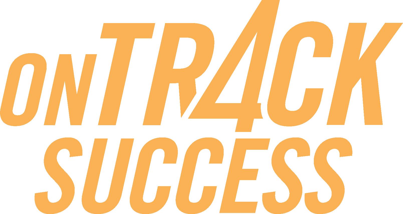 UWCM yellow On Track for Success Logo