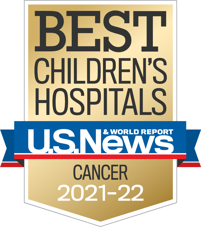 Best Children's Hospital US News and World Report Cancer care logo