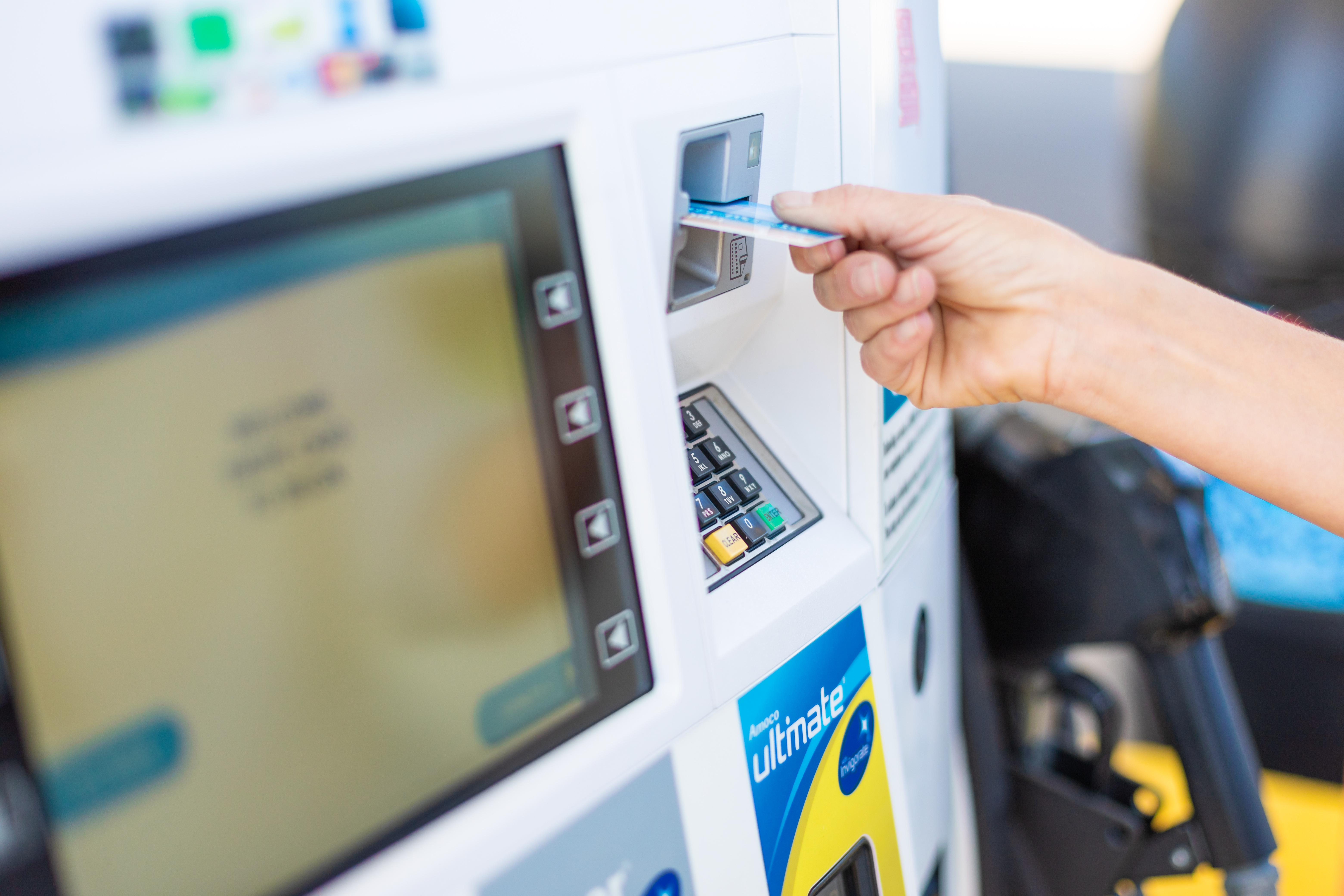 fuel card reader